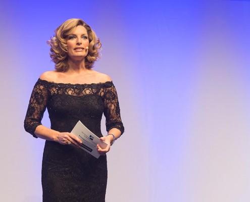 Sabine Stamm Moderatorin Award Preisverleihung für Lindt