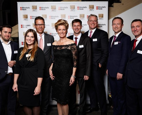 Sabine Stamm Moderatorin Gala Event Award Preisverleihung Best Of Consulting
