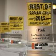 Sabine Stamm Moderatorin Gala Award Preisverleihung Best Of Consulting
