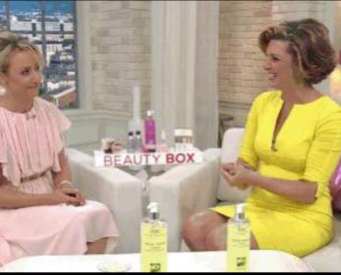 Sabine Stamm QVC SBC Markenbotschafterin Beauty-Expertin