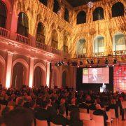 Sabine Stamm Moderatorin Event Gala Internorga Coca Cola Partnerabend