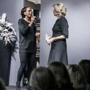 Sabine Stamm Moderatorin Fashionshow CJSchmidt