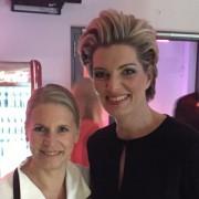 Sabine Stamm Moderatorin Gala Event Show für Coca Cola mit Cornelia Poletto Hamburg