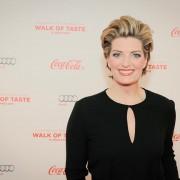 Sabine Stamm Moderatorin Gala Coca Cola