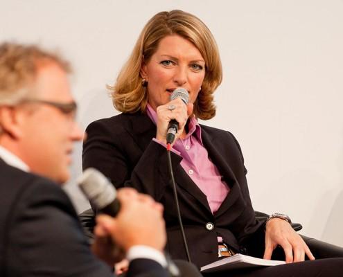 Sabine Stamm Moderatorin Kongress Fachmesse Medica